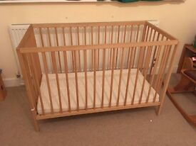 IKEA baby cot bed – great condition