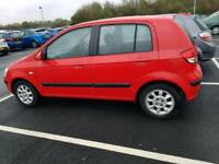 Hyundai Getz 2005 long MOT fully loaded part exchange welcome