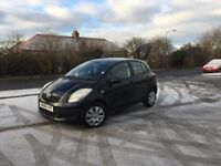 TOYOTA YARIS 1.3 PETROL 5 DOORS HATCHBACK CAR - LOW MIL. 67K- ONLY ONE LADY OWNER FROM NEW+ FULL MOT