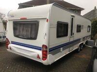 Hobby prestige 720/6 touring caravan