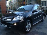 MERCEDES-BENZ ML320 CDI SPORT 4 MATIC 2008 FULL MERCEDES SERVICE HISTORY P/X WELCOME HPI CLEAR