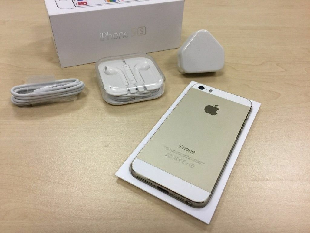 Gold Apple Iphone 5s 16gb Factory Unlocked Mobile Phone Warranty
