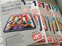 AE publication 11+ year 3-7 workbooks and test books bundle