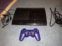 Playstation 3 (500Gb) with controller and 8 games
