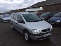 2005 VAUXHALL ZAFIRA HFE AUTOMATIC MODEL 7 SEATER WITH FULL SERVIC HISTORY IN SUPERB CONDITION CD