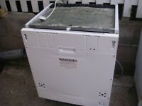 Integrated Dishwasher, Curries Essentials , hardly used, as new