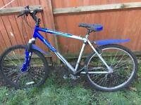 Bicycle for sell with pump in watford
