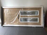 New composite front door