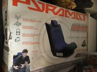 PYRAMAT GAMING CHAIR SOUNDROCKER PM440 WIRELESS NEW