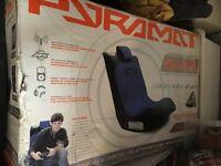 PYRAMAT GAMING CHAIR SOUNDROCKER PM440 WIRELESS NEW