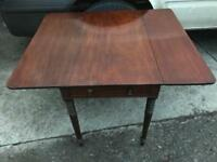 Pembroke mahogany drop leaf table FREE DELIVERY PLYMOUTH AREA