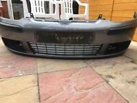 VW Golf MK5 Genuine front bumper grey