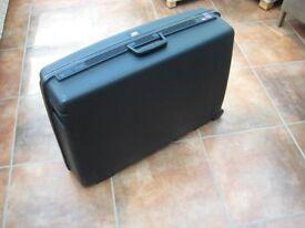 Delsey Large Black Hard Suitcase - NO KEYS