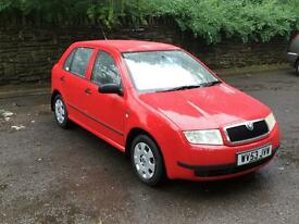 £12/WK AMAZING CONDITION/FSH!! SKODA FABIA CLASSIC 1.2 PETROL MANUAL 2003 (53) LONG MOT