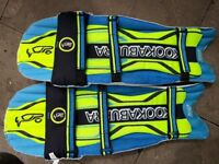 Kookaburra verve viper youths cricket pads used but good cond.usuall marks