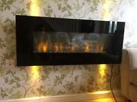 Electric wall fire £100 ONO