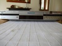 Panasonic dvd video recorder+remote+user manual good condition