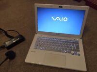 Sony VAIO Laptop. Intel I5 processor. New screen. New 1TB Hard drive.