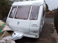 5 Berth Touring Caravan, Herald Claremont 490/5 1990 - Top of the range at the time
