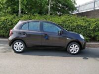 2011 Nissan Micra Acenta 1.2 – ONLY 40K MILES, FULL NISSAN SERVICE HISTORY, EXCELLENT CONDITION