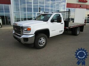 2015 GMC Sierra 3500HD WT Regular Cab 4X4 Gas DRW w/12' Deck