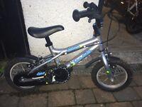 Boys Bike (Suit 3 - 5 year old) Dawes 12″ / 12 Blowfish (light frame) and Balancebuddy
