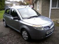 PROTON SAVVY STREET 1-2 5-DOOR 2006. 68,000 MILES, SERVICE HISTORY, VERY ECONOMICAL, ANY TRIAL.