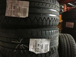 225/45/17 Michelin Arctic Alpine *Winter Tires*
