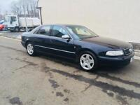 Audi A8 4.2 Quattro 4wd 1999 amazing condition full leather tv sat nav cd may swap