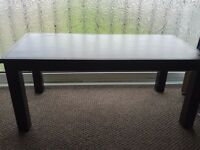 Coffee table sturdy and strong