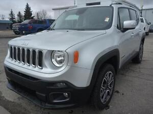 2016 Jeep Renegade Limited P.S.T. PAID! GREAT VALUE!