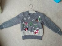 Girls next christmas jumper
