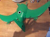 Green dinosaur light shade.