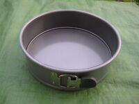Metal Cake Tin, Copper Jelly Mould and Cooling Mat - See Separate Pictures and Prices