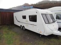 Elddis Avante Club 624 Twin Axle 4 Berth Fixed Bed Touring Caravan 2012