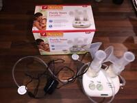 Ameda electric breast pump. Double.