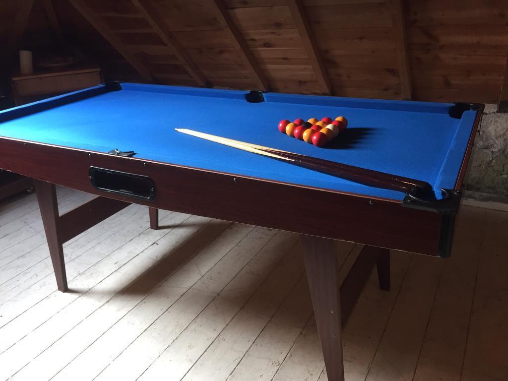 SOLD PENDING COLLECTION Pool table