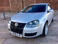 2006 VOLKSWAGEN JETTA GT DIESEL ++ ALLOYS ++ CD ++ REAR SPOILER ++ SEPTEMBER MOT.