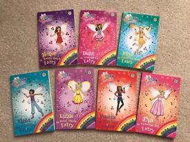 7 x Rainbow Magic books: The Princess Fairies