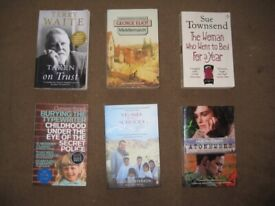 4 Novels, An Autobiography and A Real Life Search for Peace: All 6 Books for £8.00