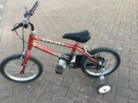 Kids bike 14 inch wheel