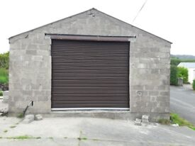 roller shed and garage doors