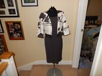 2 Pieces Dress & Bolero Jacket - Wedding Outfit by Minuet - size 10 Petite