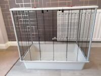 Rat, hamster, mouse, gray cage H 70,5 W 77,5 D 47,5