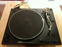 SoundLab DLP1600 belt drive turntable with pitch control
