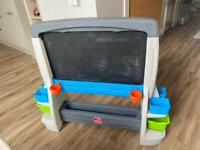 Children's Easel - black and white board