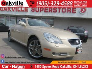 2009 Lexus SC 430 LEATHER | NAVI | ACCIDENT FREE | ULTRA LOW KM