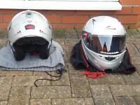Nitro and Caberg Motor Bike Helmets For Sale