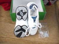 Mitre Cricket Shoes (worn once) Size 4