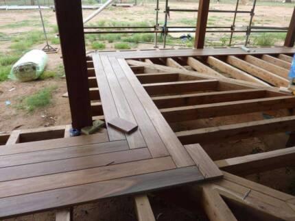 Merbau Deck Builder Decking  From $150 per m2
